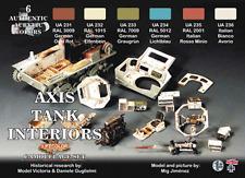 LifeColor Axis Tank Interiors Set (22ml x 6)
