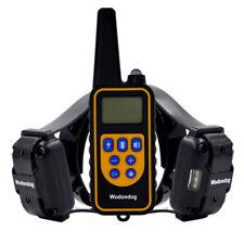 800M Remote Pet Dog Training Shock Collar Collar Waterproof Bark Control Collars