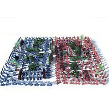 270Pcs Military Soldiers Army Men Figures & Accessories Model Playset Toy Kit SK