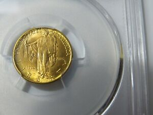 1926 gold Sesquicentennial of American Independence MS 65 GEM
