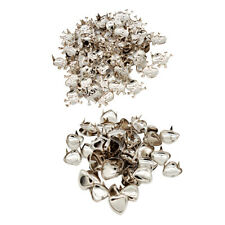100pcs Skull and Love Studs Rivet Spike Spot for Leathercraft Costumes Jeans