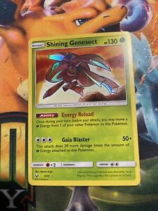 Shining Genesect 9/73 Holo Rare Pokemon Card Shining Legends NM