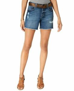 Style & Co  Ripped Denim Shorts (Spice, 16)