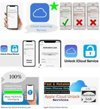 iCloud Removal✅Service FOR iPhones/iPads/iWatches✅Only Clean✅Devices📲Supported.