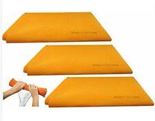 Original  Orange Super Absorbent German Shammy Cloths .(3 Pack).