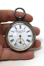 & Dent Key Wind Pocket Watch #32291 A Vintage Gents Solid Silver 935 Kendal