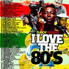DJ ROY I LOVE THE 80'S REGGAE DANCEHALL MIX CD