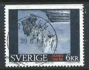 Sweden 1995 Centenary of Motion Pictures Sir Arne'sTreasure 6kr Good Used