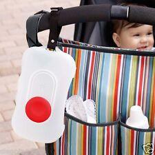 Portable Essuyer Tissu Case Lingettes Boîte Dévidoir Distributeur Pour Poussette
