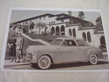 1949 DODGE CORONET CLUB COUPE  11 X 17  PHOTO  PICTURE
