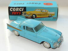 corgi STUDEBAKER GOLDEN HAWK - 211  boxed rare blue box