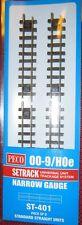 Peco Setrack Narrow Gauge 00-9/HOe Standard Straight Units ST-401