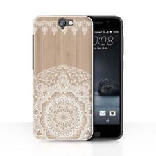 Housses et coques anti-chocs en bois, bambou pour téléphone mobile et assistant personnel (PDA) HTC