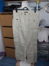 George Cotton Mid Rise Trousers for Women