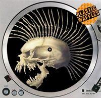 Punk Rock Mohawk Skull Slipmat #2 Turntable 12 LP Record Player DJ Audiophile