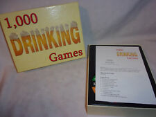 1,000 Drinking Games Outrageously Fun 2-11 Fun Adult Game Toy