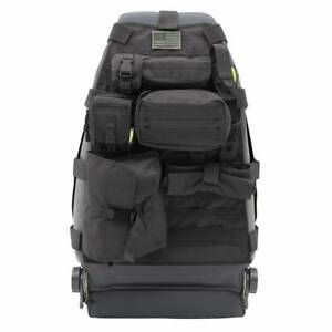 4X4 FRONT SEAT STORAGE COVER (BLACK) SMITTYBILT 5661001 CAMPING TOURING