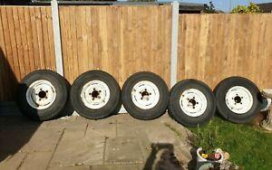 Land Rover Steel Wheels and Tyres Series 90 110 Defender NRC7578