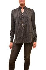 Finders Keepers Women's Carlos Blouse Black Base Spot Print S
