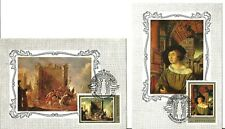 Russia Hermitage -  German Artists Paintings, set of 6 MAXI CARDS 1983 y