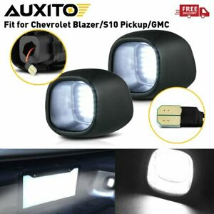 AUXITO LED License Plate Light Tag Lamp For 1998-2005 Chevy S10 Blazer GMC