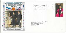 25th Anniversary of Liberation- Jersey -First Day Cover - 09.05.70