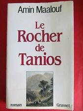 Amin Maalouf le rocher de Tanios,  277 pages, 1993