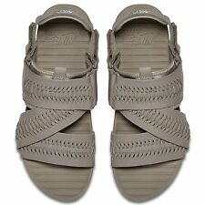 NIKE AIR SOLARSOFT ZIGZAG WOVEN QS SANDALS MEN'S SIZE 10 LIGHT TAUPE 850588-200