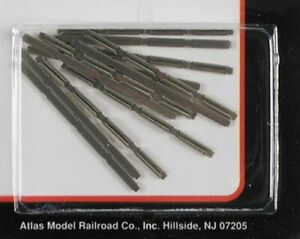 Atlas ATL2535 N-Scale Rail Joiners (48) Nickel Silver For All N-Scale Track