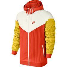 Nike Air Windrunner Jacket White Orange Yellow Sz X-Large 727324-891