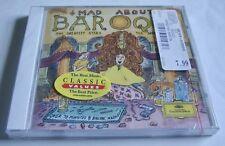 New Sealed CD MAD ABOUT BAROQUE 1993 Deutsche Grammophon