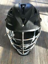 Cascade R lacrosse helmet matte black