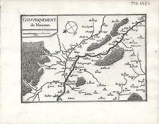 Antique maps, Gouvernement de Mouzon