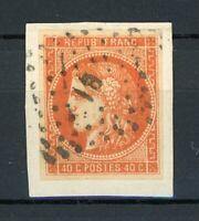 Frankreich MiNr. 43 a Briefstück CERES (O414