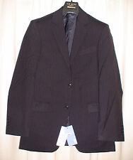 John Lewis 40R NAVY Nanotec Travel Stripe Jacket. Taloired Fit RRP £150