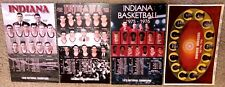 47 INDIANA HOOSIER BB SCHED POSTERS 1940,1953,1975-77,1980-2019-ALL 5 NAT CHAMPS