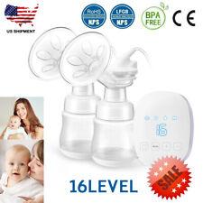 Double Breast Pumps Hospital Grade Electric Portable Breastfeeding Pump 16 Gear