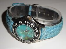 Freestyle 771 Womens 100M WR Mermaid Dolphin Blue Watch
