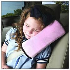 Sicherheits-Gurtpolster Autogurtpolster Schulter kind Schlafkissen DE Pink