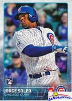 2015 Topps #108 Jorge Soler ROOKIE VARIATION Card MINT Chicago Cubs