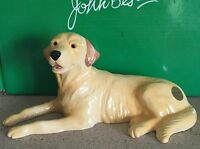 JOHN BESWICK DOG LABRADOR  GOLDEN BROWN GLOSS  PERFECT BOXED