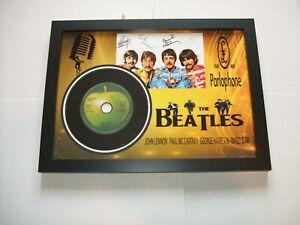 THE BEATLES   SIGNED MINI LP DISC 3