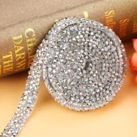 10mm Silver Diamond Mesh Wrap Roll Sparkle Rhinestone Ribbon for Wedding Decor