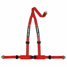 Securon Harness - 3 Point & Snap Hooks - Red (605RED)