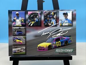 Travis Pastrana Roush Fenway Racing #60 6x8 Postcard Nascar Nationwide Series