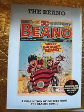 8 THE BEANO POSTER PRINTS SUITABLE FOR FRAMING 12 X 16ins