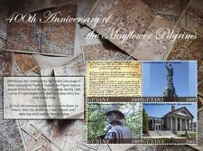 More details for guyana 2021 mnh exploration stamps mayflower pilgrims 400th anniv 4v m/s