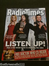 RADIO TIMES - JAN 13 2007 WITH DOCTOR WHO AUDIO CD #2 Pt 1