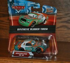 Disney Pixar Cars SPUTTER STOP #92 Exclusive Die Cast Synthetic Rubber Tires NEW