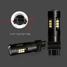 2pcs 1200Lm T20 3156 3157 LED Bulb P27W P27 7w LED Lamp White Red Amber 21SMD